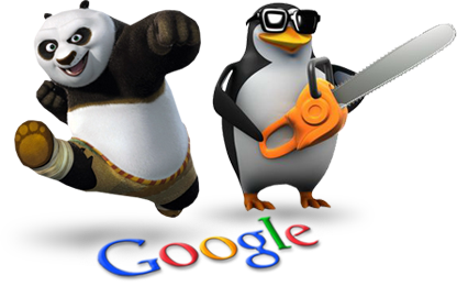 Google panda and penguin